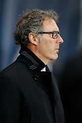 Paris Saint-Germain Manager Laurent Blanc looks on - Photo mandatory by-line: Rogan Thomson/JMP - 07966 386802 - 17/02/2015 - SPORT - FOOTBALL - Paris, France - Parc des Princes - Paris Saint-Germain v Chelsea - UEFA Champions League, Last 16, First Leg.