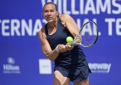 LIVERPOOL, ENGLAND - Saturday, June 22, 2019: Kaia Kanepi (EST) during Day Three of the Liverpool International Tennis Tournament 2019 at the Liverpool Cricket Club. (Pic by David Rawcliffe/Propaganda)