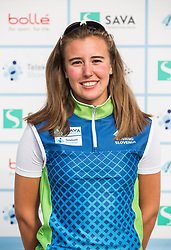 Ilaria Macchi during practice session of Slovenian Youth Rowing team for European Championship 2018, on May 20, 2018, in Bled, Slovenia. Photo by Vid Ponikvar / Sportida
