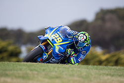 October 20, 2017 - Phillip Island, Australie - ANDREA IANNONE - ITALIAN - TEAM SUZUKI ECSTAR - SUZUKI (Credit Image: © Panoramic via ZUMA Press)