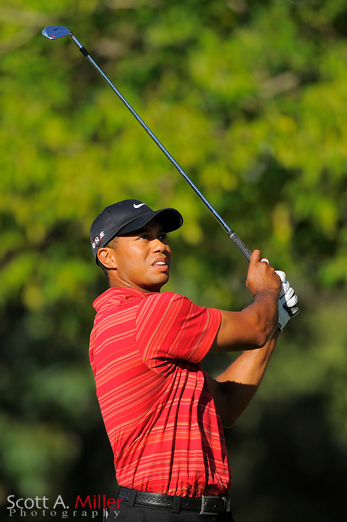 Tiger Woods during final round of PGA Championship
