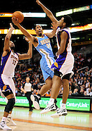 NBA: Denver Nuggets vs Phoenix Suns//20111222