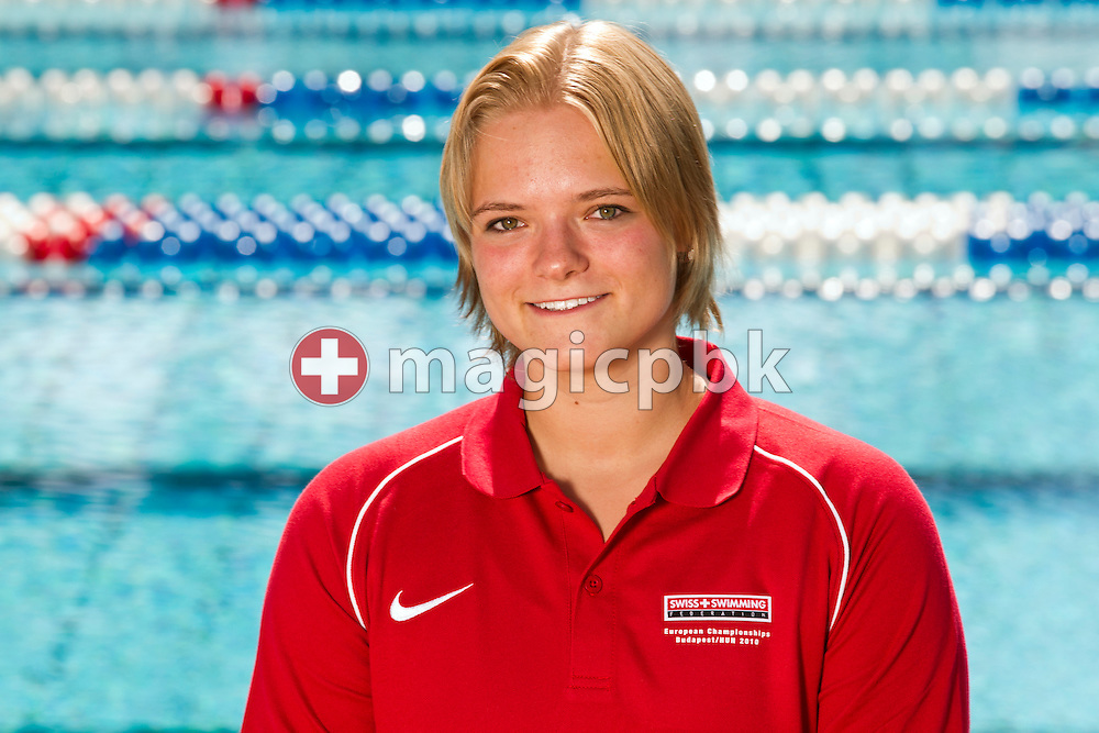 Martina Stephanie SPAHN of Switzerland is pictured during a photo session in Tenero, Switzerland, Friday, July 30, 2010. (Photo by Patrick B. Kraemer / MAGICPBK)