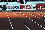 29.6.2012, Olympiastadion - Olympic Stadium, Helsinki, Finland..European Athletics Championship - Yleisurheilun EM-kisat..Juoksurata.