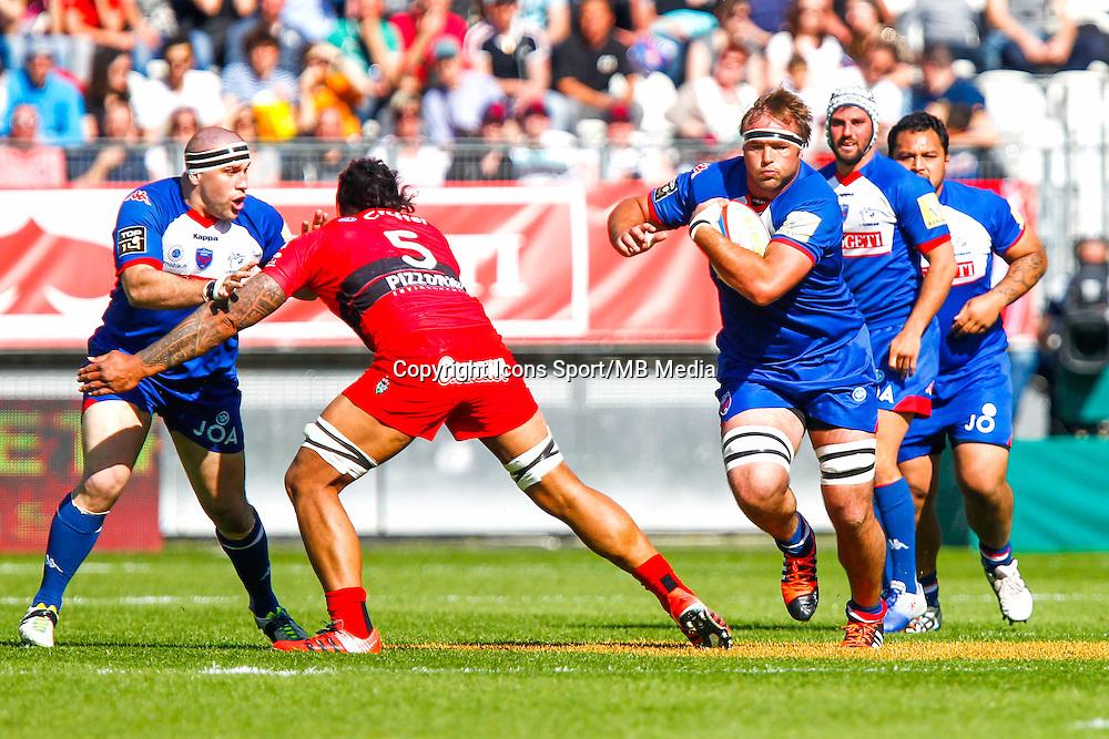 Hendrick ROODT  - 11.04.2015 - Grenoble / Toulon  - 22eme journee de Top 14 <br />Photo :  Jacques Robert / Icon Sport