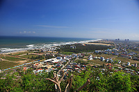 The view from the top of Thuy Son Mountain near Da Nang, Vietnam.
