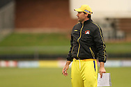Chennai Super Kings Coach Stephen Fleming during the Superkings training session held at St Georges Park in Port Elizabeth on the 20 September 2010..Photo by: Shaun Roy/SPORTZPICS/CLT20
