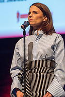 10th Film Festival Lumiere - October 19: Jane Fonda receives the Prix Lumiere 2018.<br /> Suzanne Clement delivers a speech for Jane Fonda during the 10th Lyon Film Festival