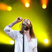 GULF SHORES, AL - MAY 18:  Chris Robinson of The Black Crowes perform during the 2013 Hangout Music Festival on May 18, 2013 in Gulf Shores, Alabama.  (Photo by Erika Goldring/Getty Images) *** Local Caption *** Chris Robinson