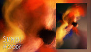 le Papillon - The Butterfly Abstract Art of the Male Form created by artist Stephen Moody of Scottsdale, AZ.  Large wall art for businesses, hospitality industry, interior designers and individual collectors.