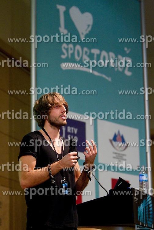 Aljosa Bagola of Pristop during Sporto  2010 - Sports marketing and sponsorship conference, on November 29, 2010 in Hotel Slovenija, Portoroz/Portorose, Slovenia. (Photo By Vid Ponikvar / Sportida.com)