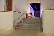 Mannheim. 08.11.17 | Zum Neubau Kunsthalle<br /> Innenstadt. Kunsthalle. Pressegespräch zum Neubau der Neuen Kunsthalle. Die Eröffnung der Neuen Kunsthalle im Dezember nur mit Skulpturen - keine Gemälde wegen technischen Verzögerungen.<br /> <br /> <br /> <br /> <br /> BILD- ID 01546 |<br /> Bild: Markus Prosswitz 08NOV17 / masterpress (Bild ist honorarpflichtig - No Model Release!)