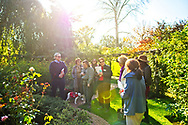 Old Westbury, New York, U.S. October 19, 2019. Closing Reception for Jerzy Kędziora (Jotka) Balance in Nature outdoor sculptures exhibit is held at Old Westbury Gardens. Panelists were Polish sculptor Kędziora; Jennifer Lantzas, Deputy Director of Art & Antiquities at NYC Parks; Marie-Ève Lafontaine, curator of modern & contemporary art; Sohrab Mohebbi, a writer & Curator at SculptureCenter; Izabela Gola, Curator of Visual Art & Design Programming at Polish Cultural Institute NY.