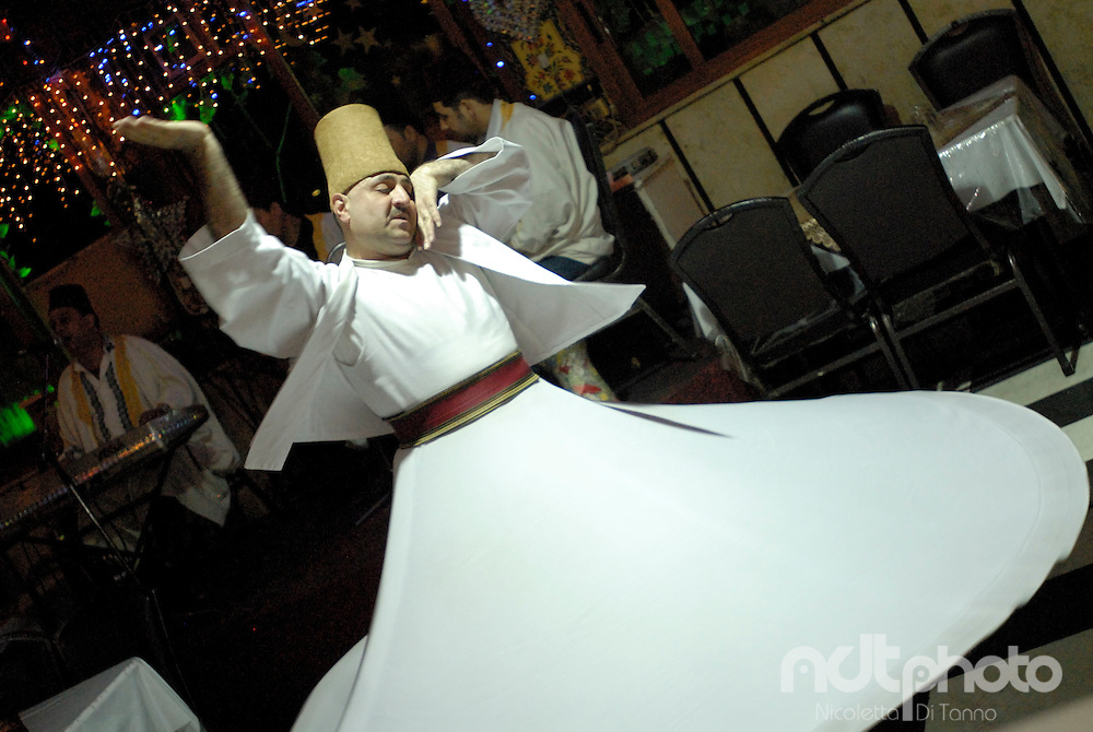 Whirling dervish, Damascus, Syria