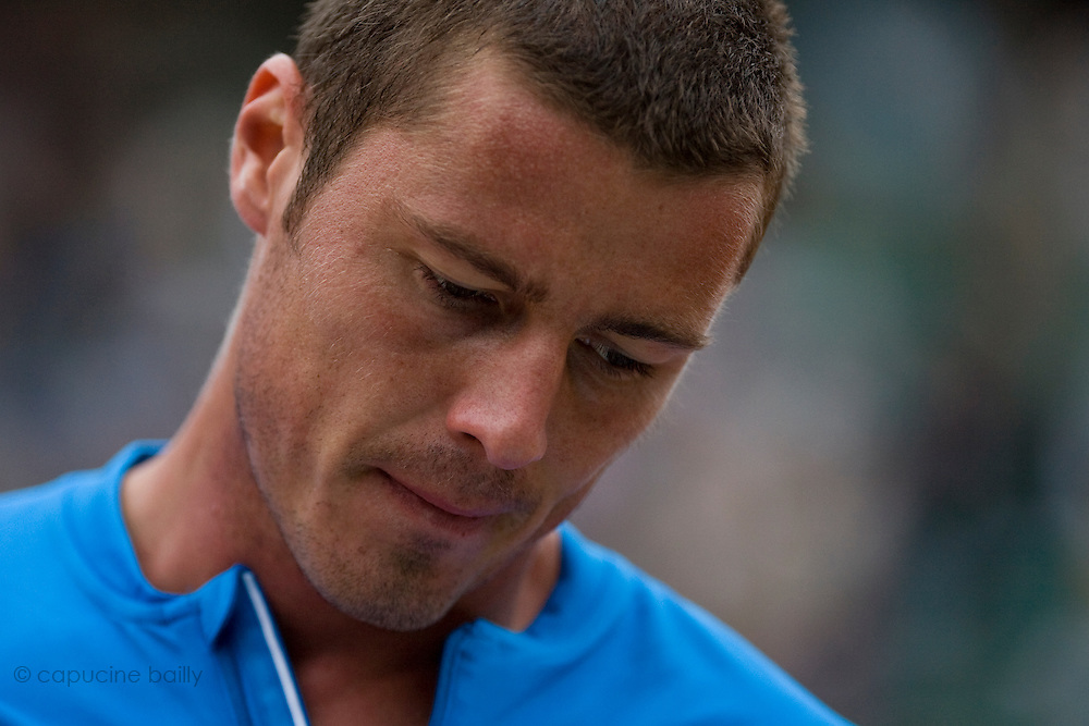 Paris, France. May 27th 2009. .Roland Garros - Tennis French Open. 2nd Round..Marat Safin against Josselin Ouanna.