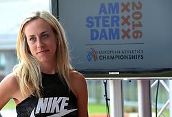 """06-07-2015 NED: Presentatie EK Atletiek """"One year to go"""", Amsterdam<br /> Kick off  EK Atletiek 2016 in het Olympische stadion Amsterdam. Over 1 jaar zal het EK Atletiek plaats vinden / Susan Kuijken"""
