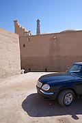 Uzbekistan, Khiva. Wolga car.
