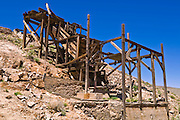 The Cashier Mill at the Eureka Mine, Death Valley National Park. California