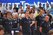 DESCRIZIONE : Trento Primo Trentino Basket Cup Finlandia Italia<br /> GIOCATORE : simone pianigiani<br /> CATEGORIA : inno nazionale<br /> SQUADRA : Finlandia Nazionale Italia Maschile <br /> EVENTO :  Trento Primo Trentino Basket Cup<br /> GARA : Finlandia Italia<br /> DATA : 25/07/2012<br /> SPORT : Pallacanestro<br /> AUTORE : Agenzia Ciamillo-Castoria/M.Gregolin<br /> Galleria : FIP Nazionali 2012<br /> Fotonotizia : Trento Primo Trentino Basket Cup Finlandia Finlandia<br /> Predefinita :