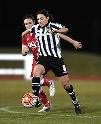 Notts County Ladies FC's Rachel Williams - Mandatory by-line: Paul Knight/JMP - Mobile: 07966 386802 - 23/02/2016 -  FOOTBALL - Stoke Gifford Stadium - Bristol, England -  Bristol City Women v Notts County Ladies - Pre-season friendly