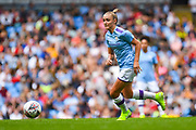 Manchester City Women forward Georgia Stanway (10) during the FA Women's Super League match between Manchester City Women and Manchester United Women at the Sport City Academy Stadium, Manchester, United Kingdom on 7 September 2019.