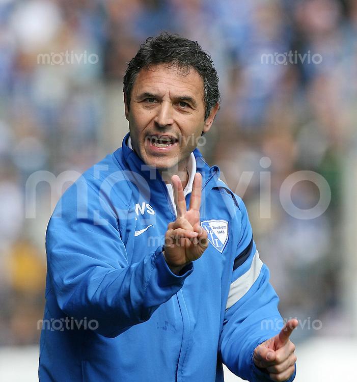 Fussball Bundesliga  33. Spieltag  VfL Bochum 2-3 VfB Stuttgart Trainer Marcel Koller