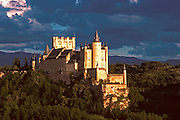 SPAIN, CASTILE, SEGOVIA Alcazar Castle for Ferdinand and Isabel