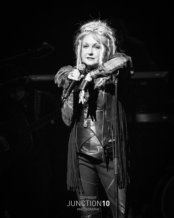 Cyndi Lauper at the Symphony Hall, Birmingham, United Kingdom<br /> Picture Date: 22 June, 2016 @CyndiLauper #GORGEOUS
