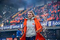 Den Bosch - Rabo fandag 2019 . hockey clinics met de spelers van het Nederlandse team. opkomst van international Kyra Fortuyn (Ned).   COPYRIGHT KOEN SUYK