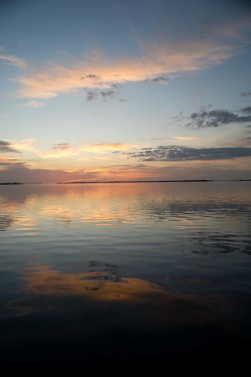Sunset over Pine Island, Florida