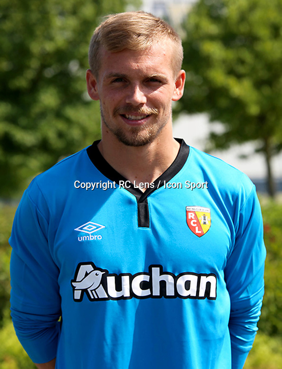 Jeremy Vachoux during photoshooting of RC Lens for new season 2017/2018 on October 5, 2017 in Lens, France<br /> Photo by RC Lens / Icon Sport