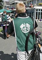 STAFFAN (Ierland) - K CLUB bij Dublin, de golfbaan waar in 2006 de Ryder Cub wordt gespeeld.