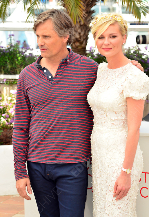 23.MAY.2012. CANNES<br /> <br /> ON THE ROAD PHOTOCALL DURING THE 65TH CANNES FILM FESTIVAL<br /> <br /> BYLINE: EDBIMAGEARCHIVE.COM<br /> <br /> *THIS IMAGE IS STRICTLY FOR UK NEWSPAPERS AND MAGAZINES ONLY*<br /> *FOR WORLD WIDE SALES AND WEB USE PLEASE CONTACT EDBIMAGEARCHIVE - 0208 954 5968*