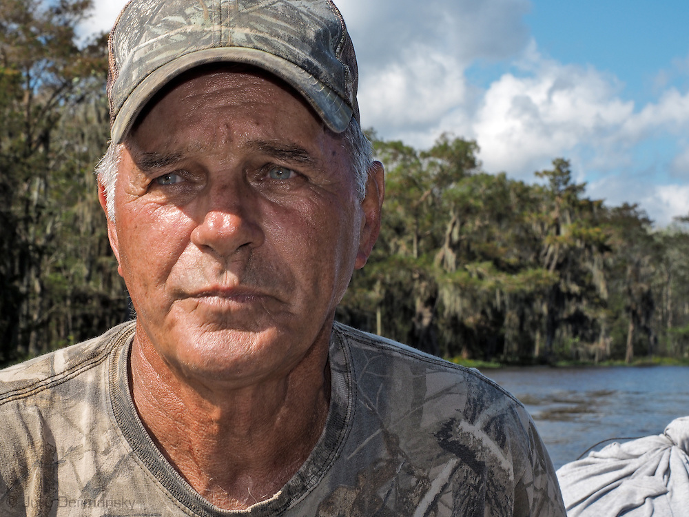 Adam Morales, folk artist in Pierre Part, Louisiana who runs ths Cypress Swamp Driftwood Family Museum.