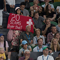 A general view of fans during the 2018 Australian Open on day 12 in Melbourne, Australia on Friday night January 26, 2018.<br /> (Ben Solomon/Tennis Australia)