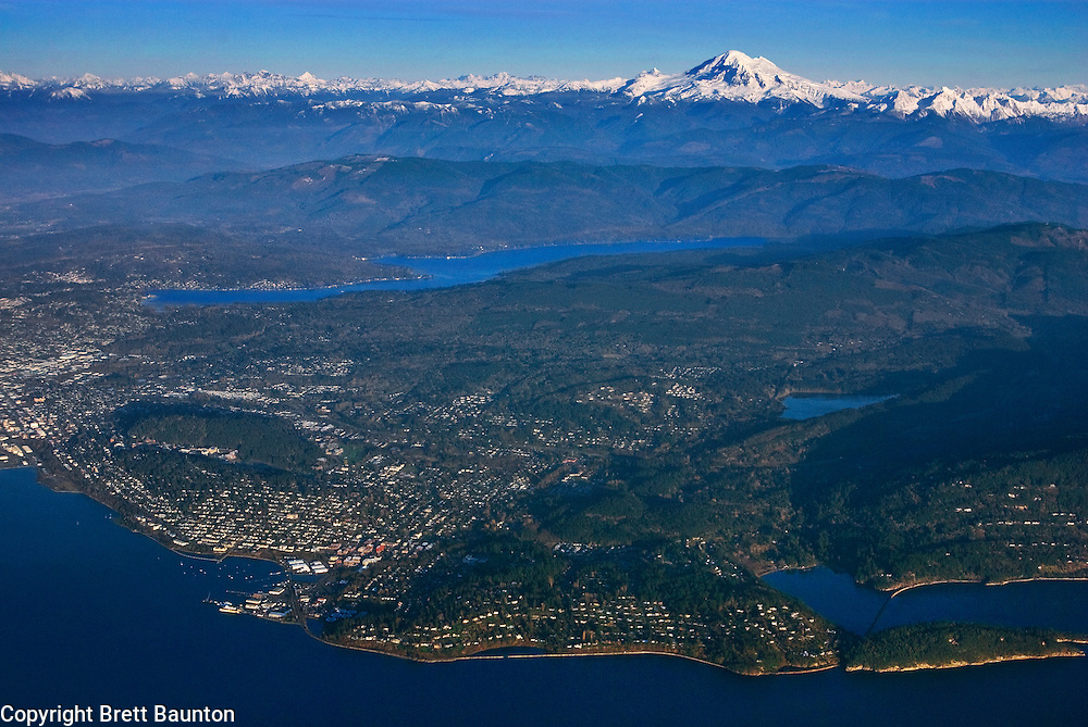 Bellingham, Washington State, Lake Padden, Lake Whatcom, Mt. Baker, North Cascades