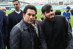 May 6, 2017 - London, London, United Kingdom - Image ©Licensed to i-Images Picture Agency. 06/05/2017. London, United Kingdom. Photocall with Indian cricketer Sachin Tendulkar. Sachin Tendulkar. Photocall with the legendary cricketer, Sachin Tendulkar at Kia Oval, for the upcoming release of his film, Sachin: A Billion Dreams. The film follows Sachin Tendulkar's journey from a young boy to one of the most celebrated sportsman of all time, releases on May 26th. Directed by award-winning filmmaker James Erskine, this film allows fans to walk into the Master Blaster's life and also feature India. Picture by Dinendra Haria / i-Images (Credit Image: © Dinendra Haria/i-Images via ZUMA Press)