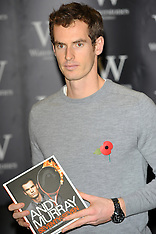 NOV 06 2013 Andy Murray Book Signing