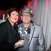 NLD/Uitgeest/20120116 - Uitreiking Populariteitsprijs 2012, vader en moeder Saunders