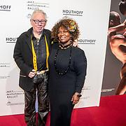 NLD/Amsterdam/20180324 - inloop première Dutch Doubles ballet, Gerda Havertong en partner Roelof Lenten