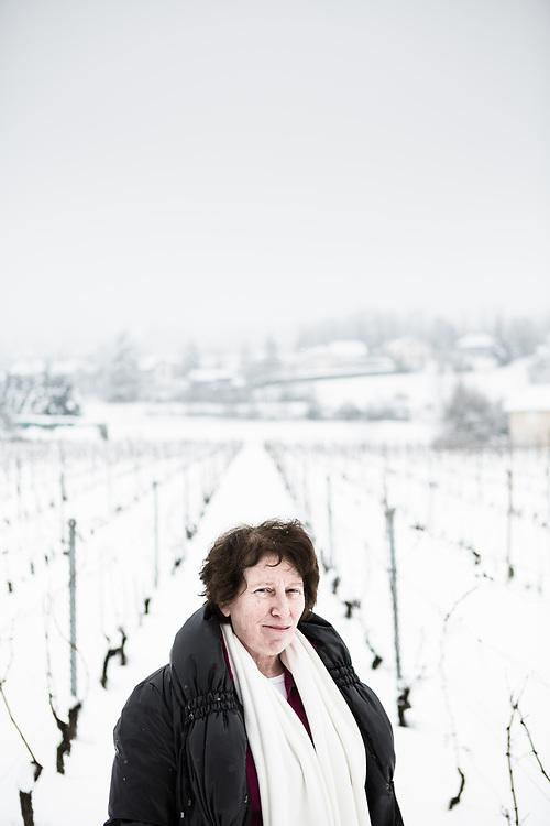 Ruth Fivaz-Silbermann, historienne Genevoise. Elle s'est penchée sur le dénombrement du nombre de réfugiés refoulés par la Suisse pendant la 2e guerre mondiale. La Croix De Rozon, 12 février 2013.