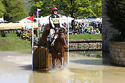 Emily Lochore on Hexmaleys Hayday during the International Horse Trials at Chatsworth, Bakewell, United Kingdom on 13 May 2018. Picture by George Franks.