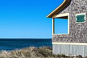 Waterfront beach cottage, Cape Cod, Massachusetts, USA