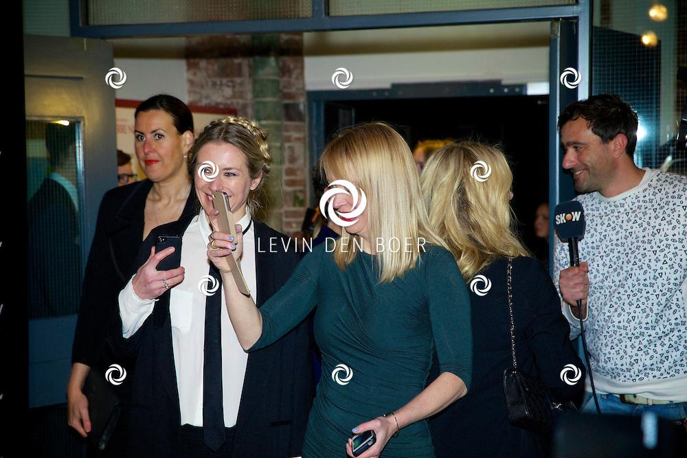 AMSTERDAM - In de Vondelkerk is de filmpremiere van 'Yves Saint Laurent' gehouden. Met op de rode loper  Hilmar Mulder. FOTO LEVIN DEN BOER - PERSFOTO.NU