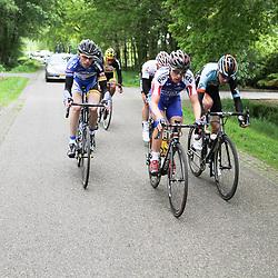 WIELRENNEN Rijssen, de 62e ronde van Overijssel werd op zaterdag 3 mei verreden. Maurits Lammertink in de kopgroep
