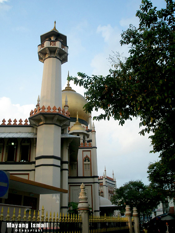 Mosque on Arab Street, Singapore 2007
