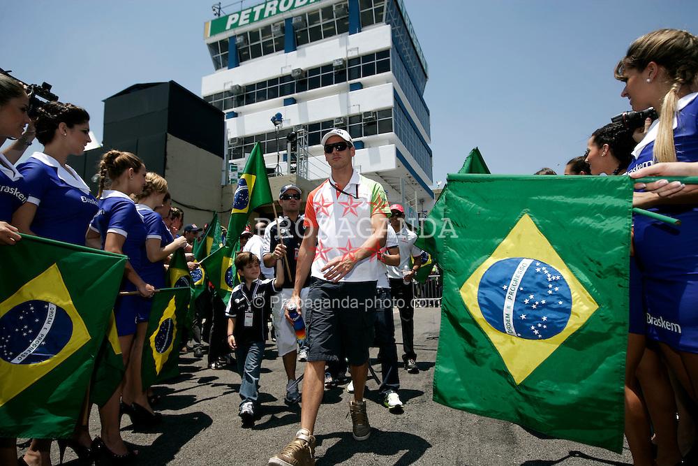 Motorsports / Formula 1: World Championship 2010, GP of Brazil, 14 Adrian Sutil (GER, Force India F1 Team),