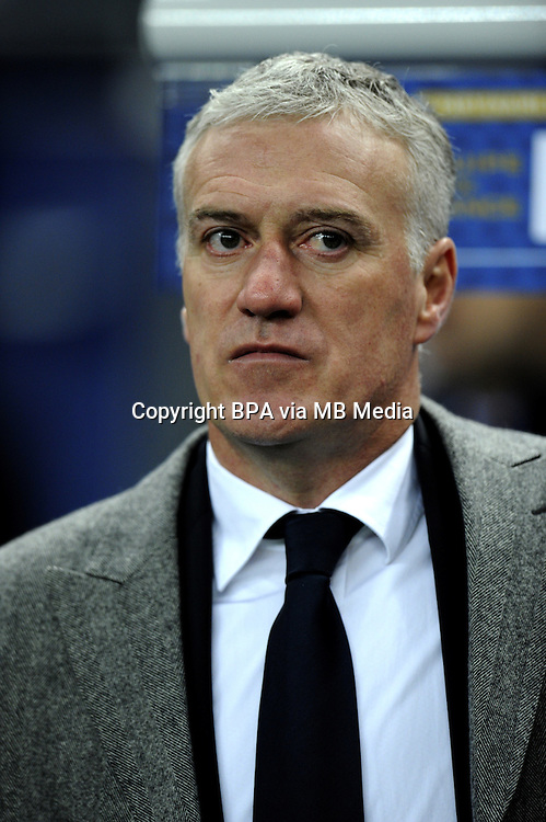 Football Fifa Brazil 2014 World Cup - Friendly Matchs 2013 -<br /> France vs Germany 1-2  ( Stade de France Stadium-Saint-Denis , France )<br /> Didier Deschamps Coach of France , during the Friendly Match between France and Germany