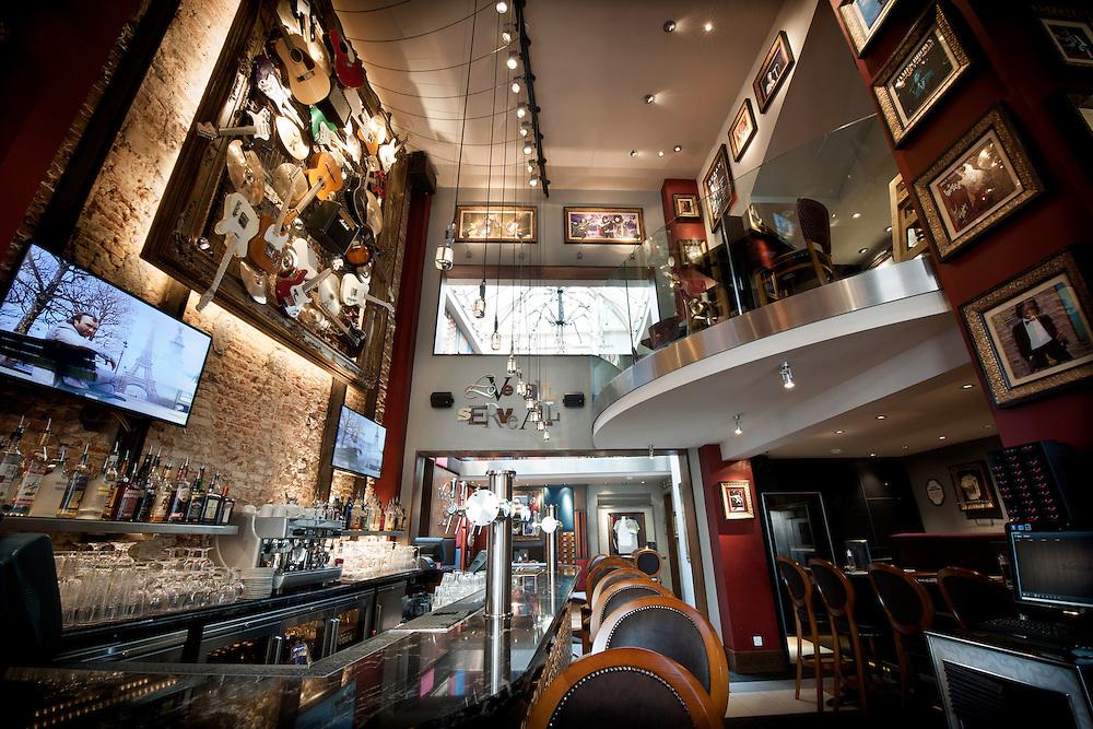 Brussels, Belgium 28 August 2012.Hard Rock Cafe Brussels..Photo: Ezequiel Scagnetti