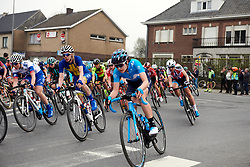 Alba Teruel (ESP) at Ronde van Vlaanderen - Elite Women 2019, a 159.2 km road race starting and finishing in Oudenaarde, Belgium on April 7, 2019. Photo by Sean Robinson/velofocus.com